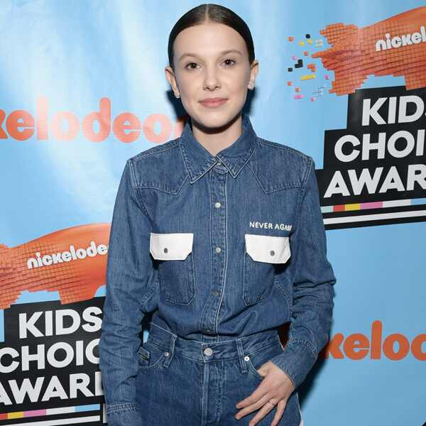 Millie Bobby Brown, Nickelodeon Kids' Choice Awards 2018