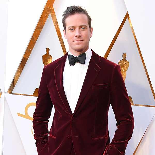 Armie Hammer, 2018 Oscars, Red Carpet Fashions