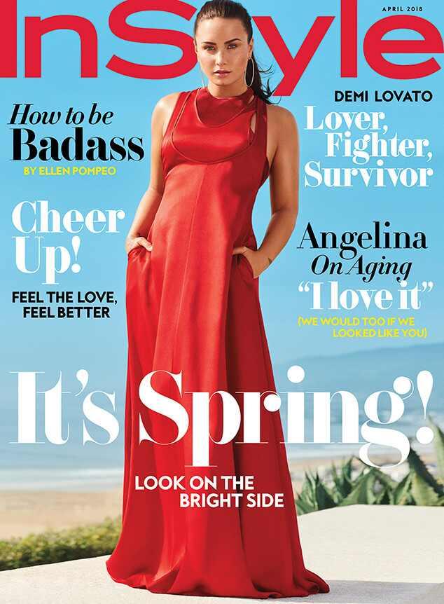 Demi Lovato, InStyle