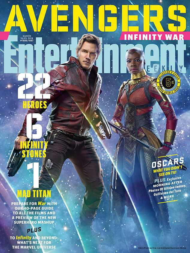 Avengers: Infinity War, Entertainment Weekly