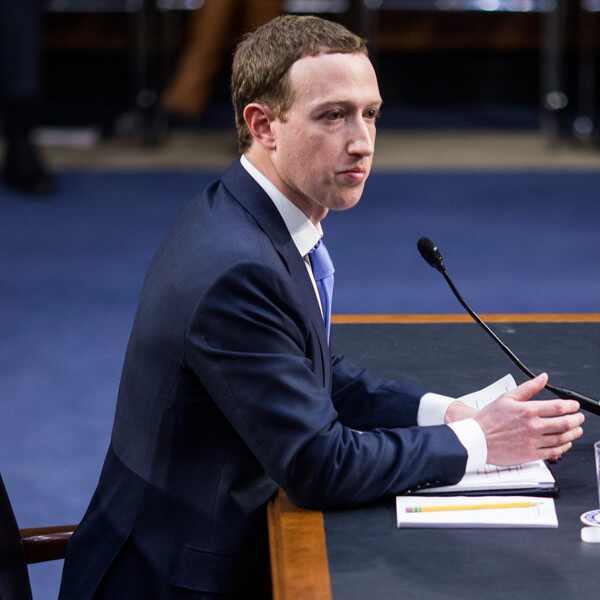 Mark Zuckerberg, Congress