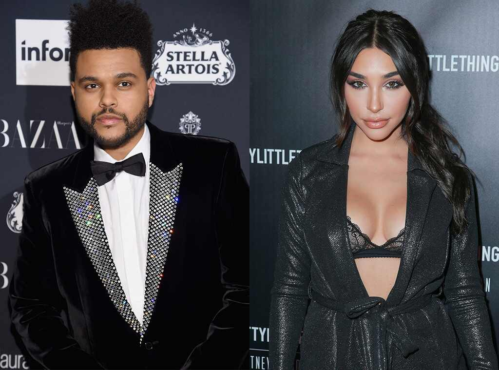The Weeknd, Chantel Jeffries