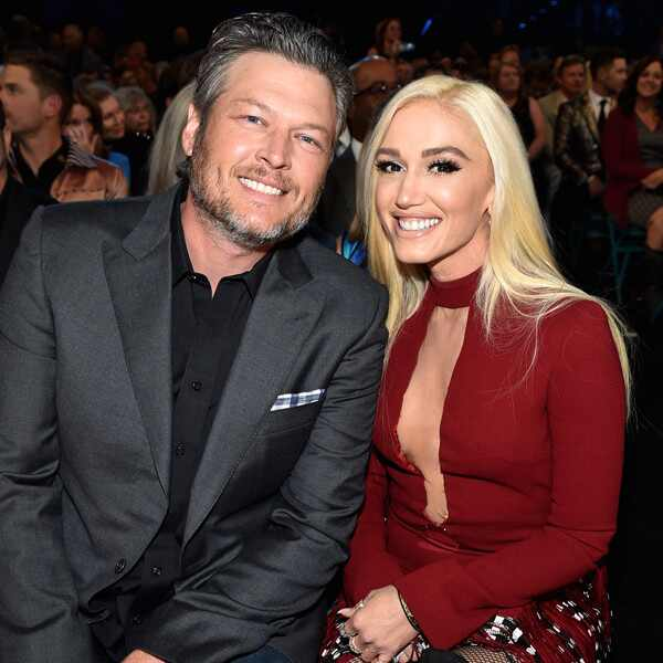 Blake Shelton, Gwen Stefani, Academy of Country Music Awards 2018