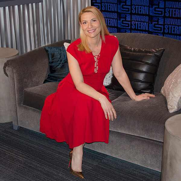 Claire Danes, Pregnant, Howard Stern Show