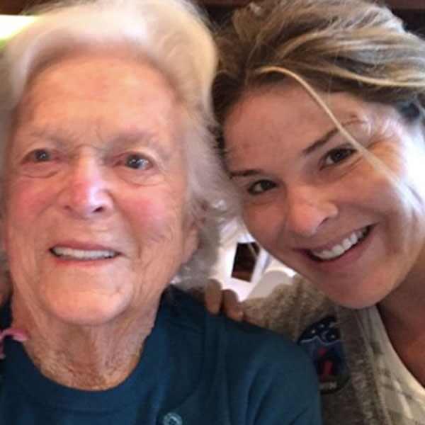 Jenna Bush Hager, Barbara Bush