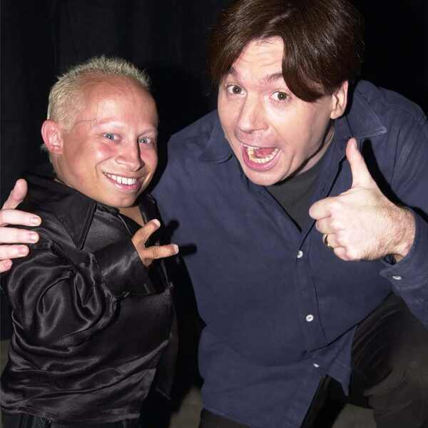 Verne Troyer, Mike Myers