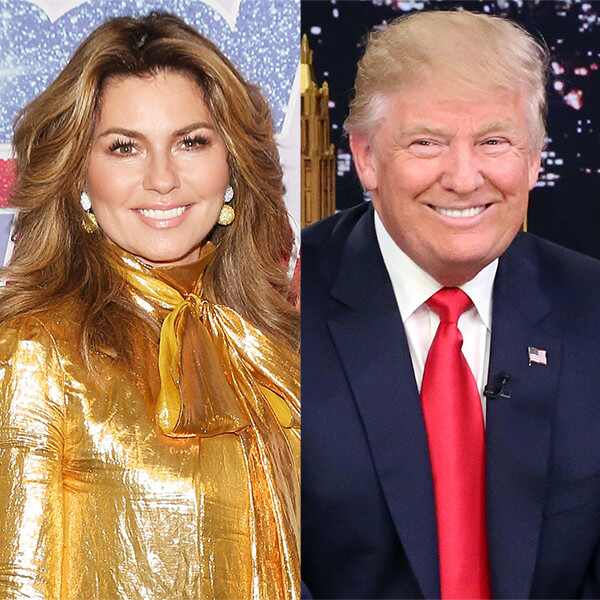 Shania Twain, Donald Trump