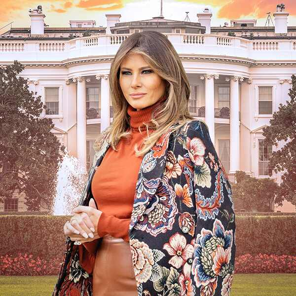 Melania Trump Feature, White House