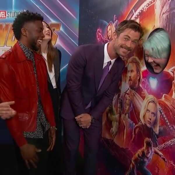 Avengers: Infinity War, Jimmy Kimmel Live