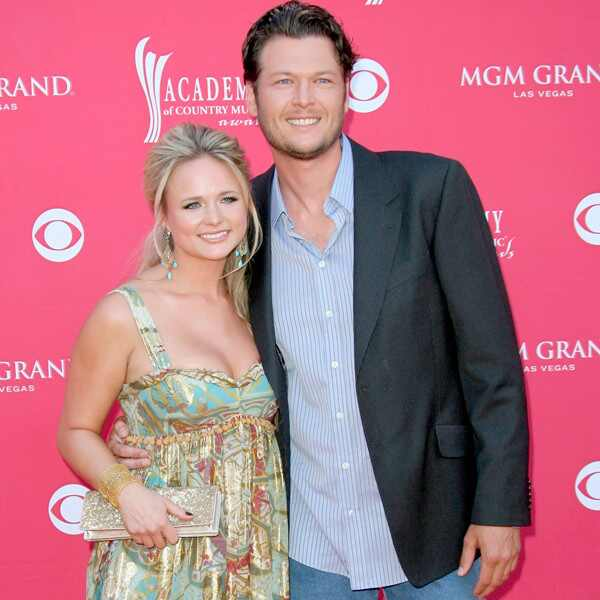 Miranda Lambert, Blake Shelton, 2008 ACM Awards