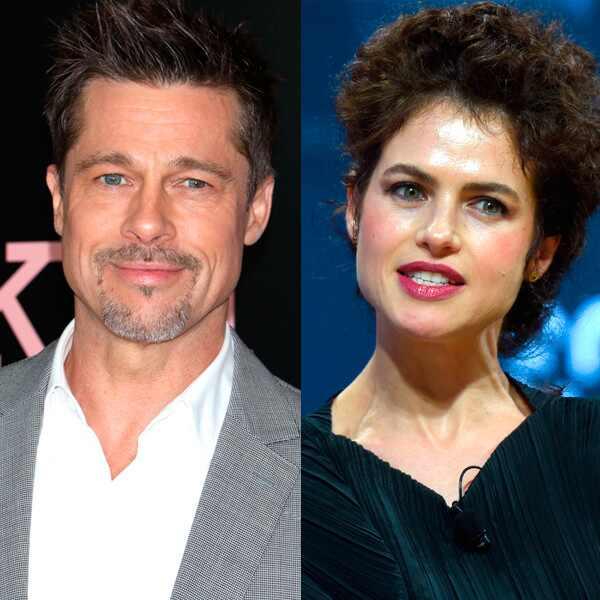 Brad Pitt, ¿otra vez en pareja?