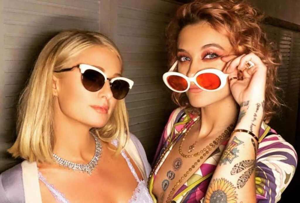 Paris Hilton, Paris Jackson