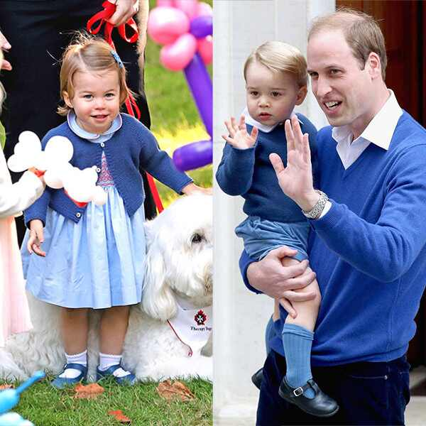 Prince George, Princess Charlotte, Prince William