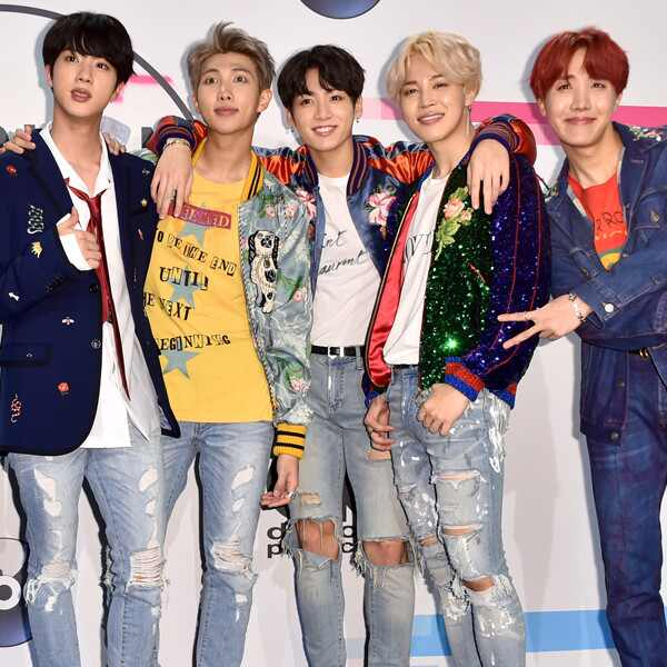 BTS, 2017 American Music Awards