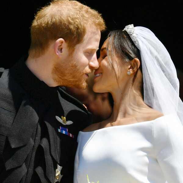 Meghan Markle, Prince Harry, Royal Wedding, Kiss