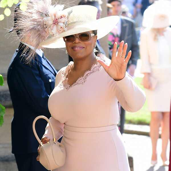 Oprah Winfrey, Royal Wedding Arrivals
