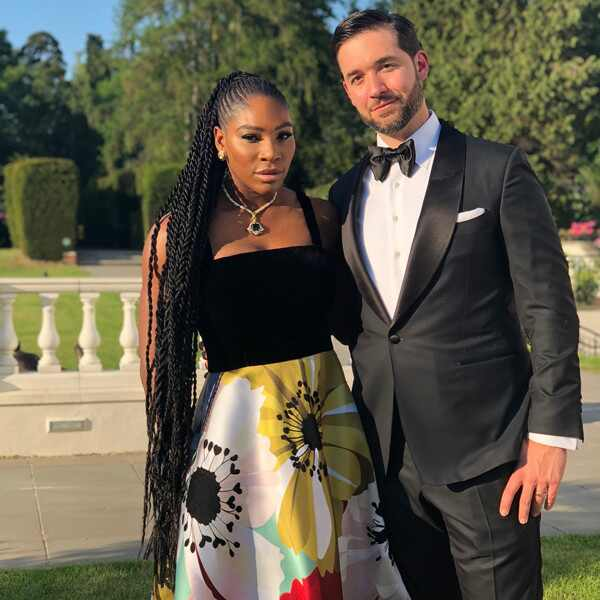 Serena Williams, Alexis Ohanian, Royal Wedding, Instagram