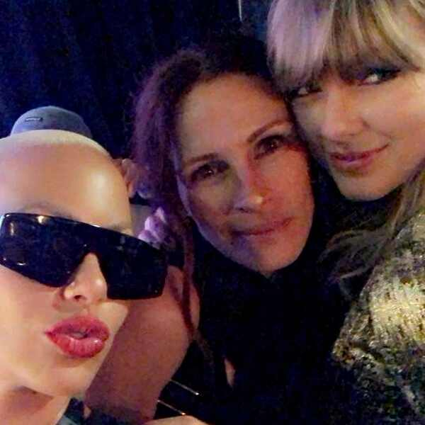 Amber Rose, Taylor Swift