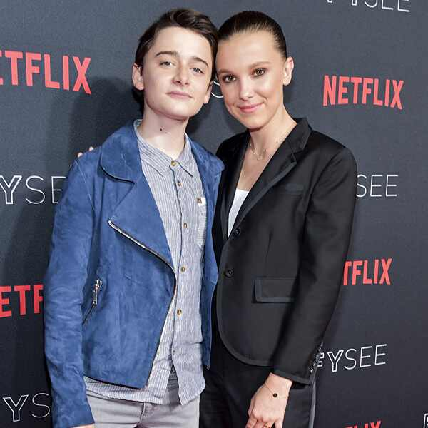 Millie Bobby Brown, Noah Schnapp