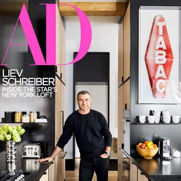 Liev Schreiber, Architectural Digest
