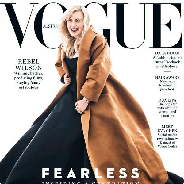 Rebel Wilson, Vogue, Cover, 2018