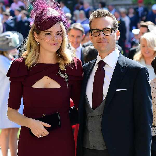 Gabriel Macht, Jacinda Barrett, Royal Wedding Arrivals