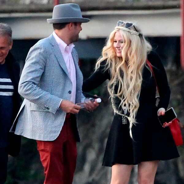Avril Lavigne Matrimonio In Nero : Avril lavigne e chad kroeger in italia viaggio di nozze a
