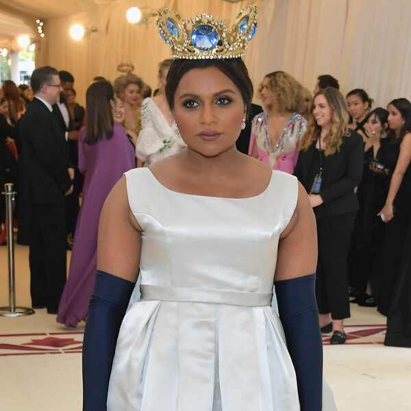 Mindy Kaling, 2018 Met Gala, Red Carpet Fashions