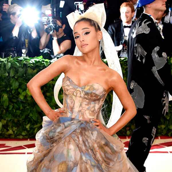 Ariana Grande, 2018 Met Gala, Red Carpet Fashions