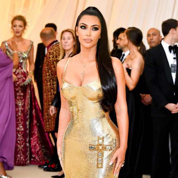 ESC: Kim Kardashian, 2018 Met Gala