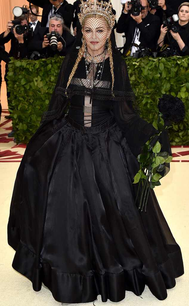 Madonna, 2018 Met Gala, Red Carpet Fashions