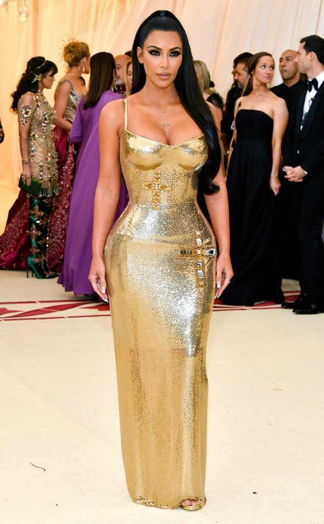 Kim Kardashian, 2018 Met Gala, Red Carpet Fashions