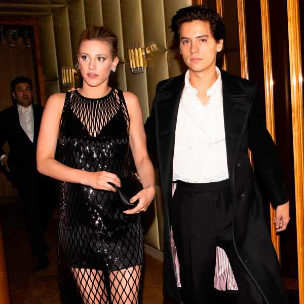 Lili Reinhart, Cole Sprouse, Met Gala Afterparty 2018