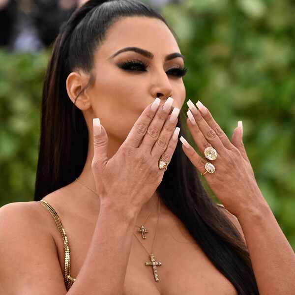 Kim Kardashian, 2018 Met Gala, Nails