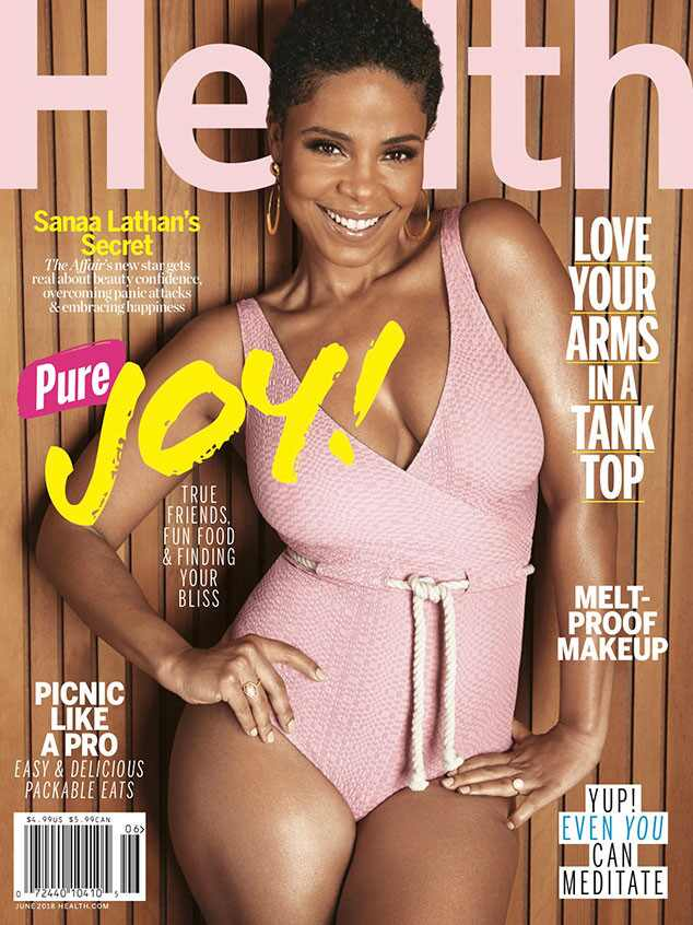 Sanaa Lathan, Health, June 2018