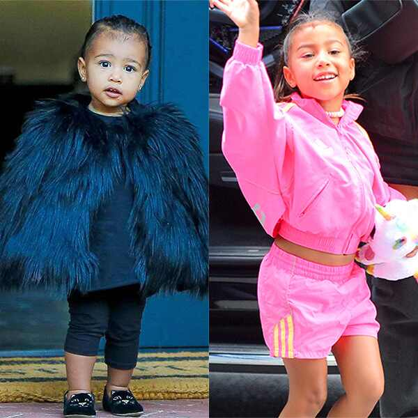 North West, Style Evolution