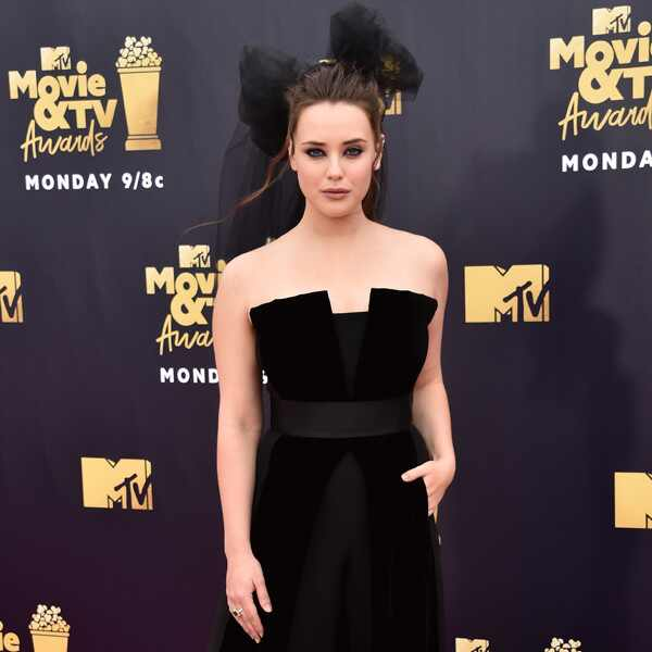 Katherine Langford, 2018 MTV Movie & TV Awards, Arrivals