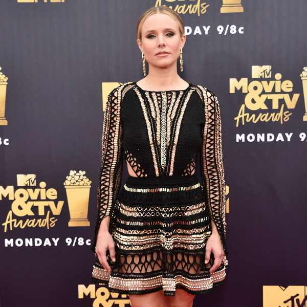 Kristen Bell, 2018 MTV Movie & TV Awards, Arrivals