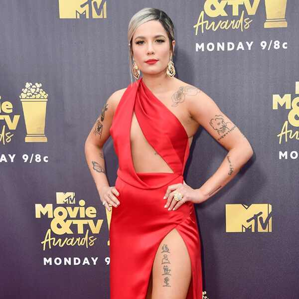 Halsey, 2018 MTV Movie & TV Awards, Arrivals