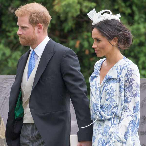 Meghan Markle, Prince Harry, Celia McCorquodale Wedding