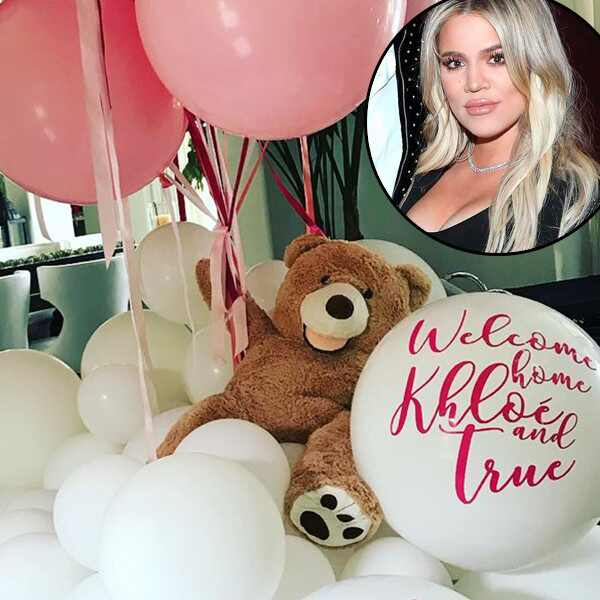 Khloe Kardashian, Father's Day 2018, Balloons, Kylie Jenner