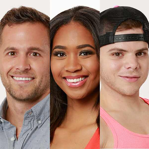 Winston Hines, Bayleigh Dayton, JC Monduix, Big Brother