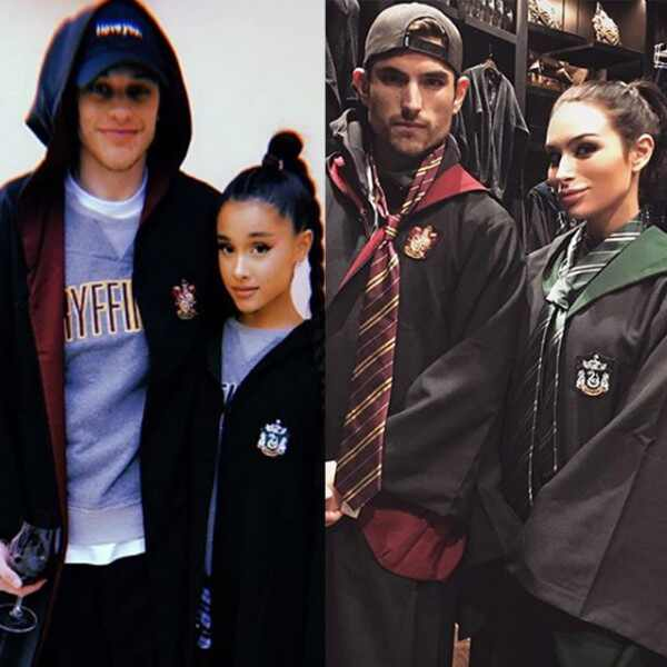 Ariana Grande, Pete Davidson, Jared Haibon, Ashley Iaconetti
