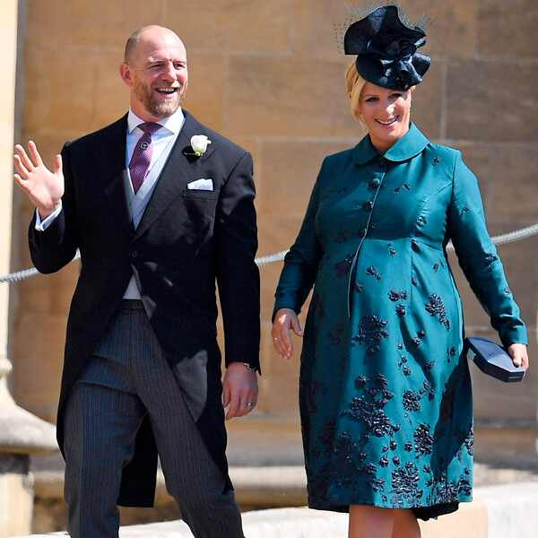 Zara Phillips, Mike Tindall, Royal Wedding Arrivals