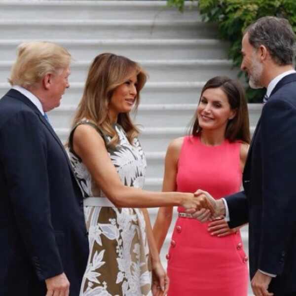 Letizia, Donald Trump, Rey Felipe, Melania Trump