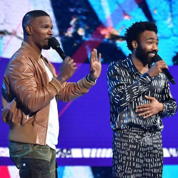 Jamie Foxx, Donald Glover, 2018 BET Awards