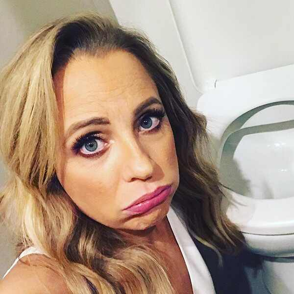 Carrie Bickmore, morning sickness