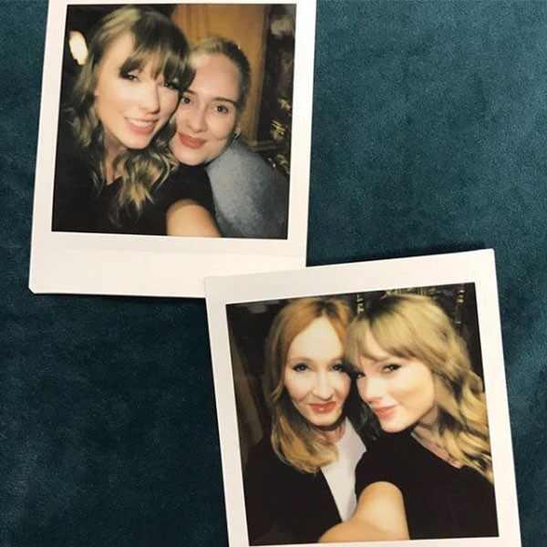 Taylor Swift, Adele, JK Rowling