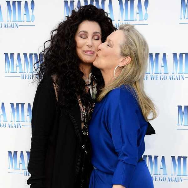 Cher, Meryl Streep, Mama Mia Premiere
