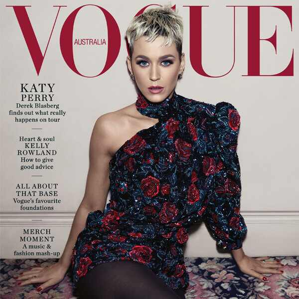 Katy Perry, Vogue Australia August 2018, cover
